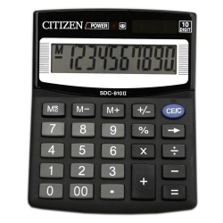 Калькулятор Citizen SDC-810 BN /10р/