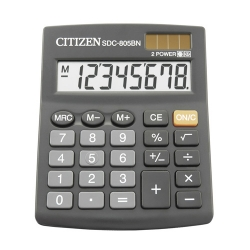 Калькулятор Citizen SDC-805 BN /8р/