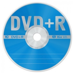 Диск DVD+R 4.7Gb cake box 16x (25шт.)